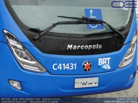 Real Autoônibus no BRT Transcarioca