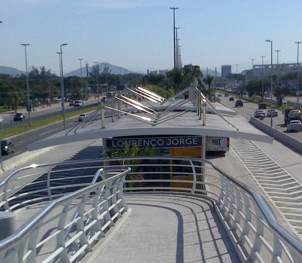 Estação Lourenço Jorge do Transcarioca