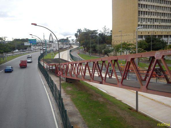 Linha Vermelha, Passarela e Transcarioca