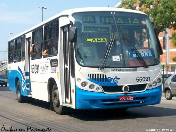 Foto retirada do Ônibus em Movimento